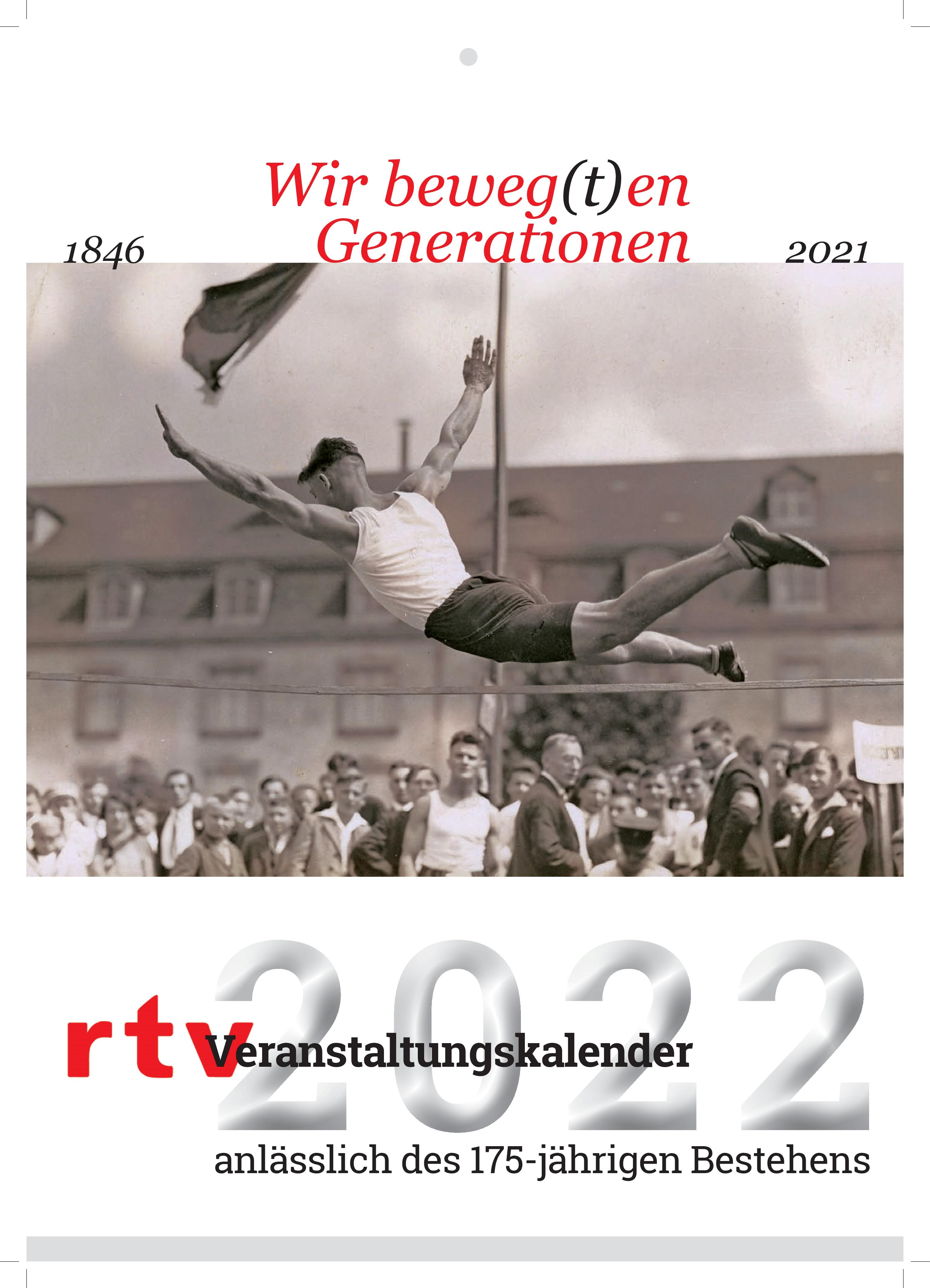 Titelseite des RTV Jubiläumskalenders